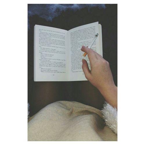 Read a book and smoke a cigarette. Perfect Sonday