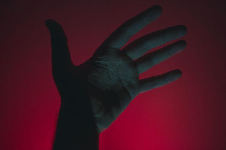 magic hand Art