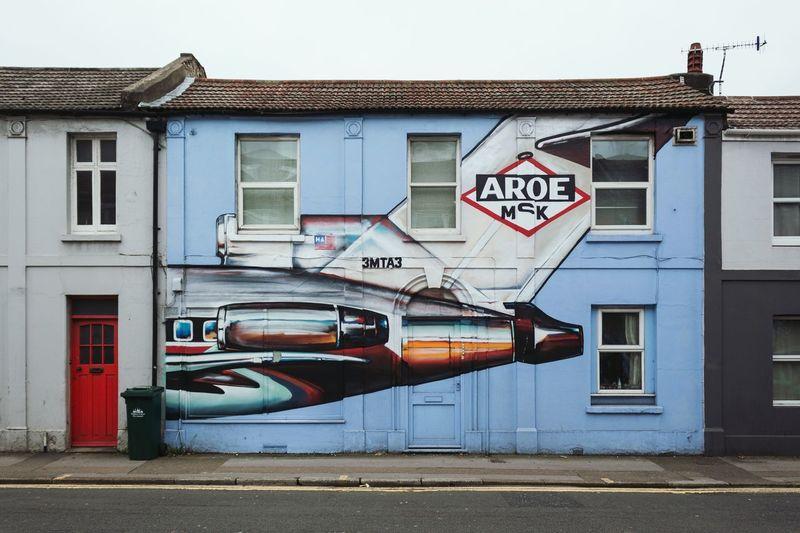 Street Art Brighton Uk Brighton Graffiti Art Streetphotography Check This Out Wallart Graffiti
