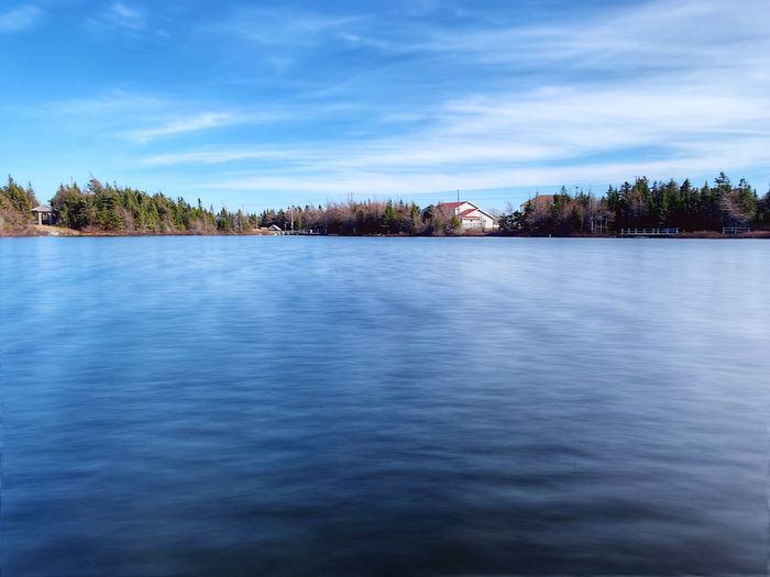 Pond Newfoundland Water Architecture Sky Built Structure Tree Building Exterior Cloud - Sky Plant Nature Waterfront No People Day Tranquility Beauty In Nature Scenics - Nature Outdoors My Best Photo