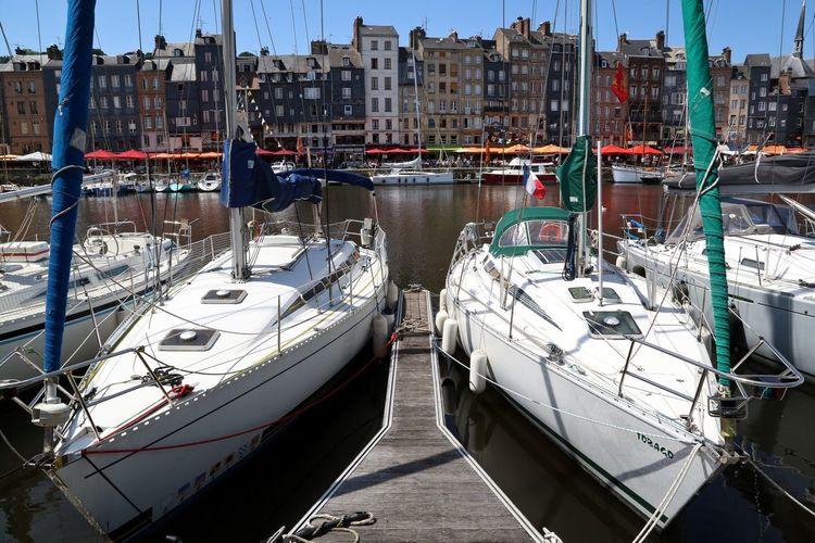 Normandie France Travelling Traveling Summer Colors Sea Boat Boats Honfleur