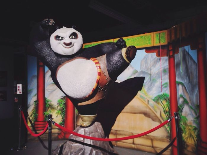 KUNG FU PANDA! Haiya!! Get Animated Exhibi The Fair At The PNE Pne Playland