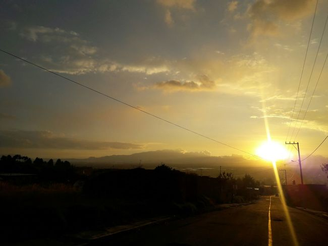 Atardecer Sinfiltro Without Filters Lerma Sol
