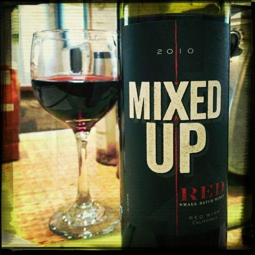 Wine After A Hard Weeks Work