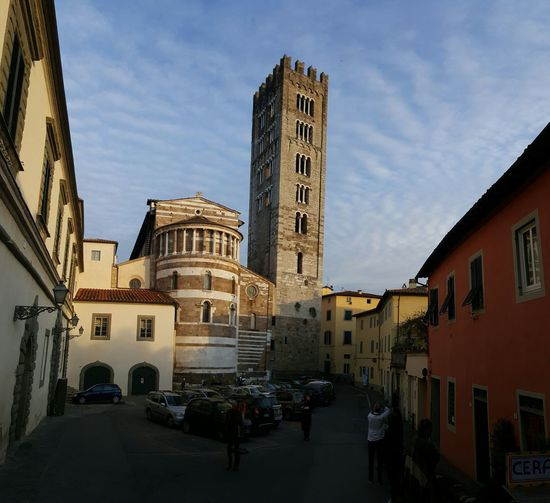 In Lucca , Tuscany