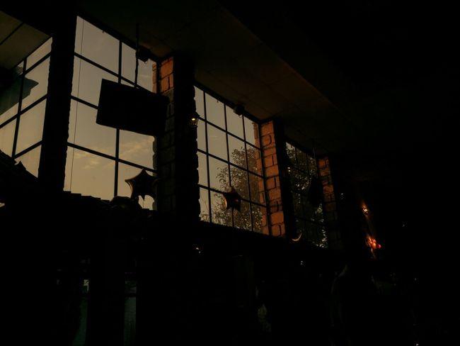 Architecture Built Structure Window Indoors  Prison Building Exterior Night