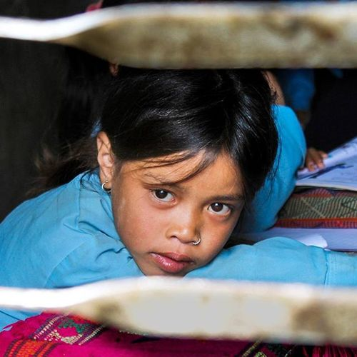 To hear another soul and to whisper to another soul;To be a lantern in the darkness Or an umbrella in a stormy day; To feel much more than know. To be the eyes of an eagle, slope of a mountain; Nepal Visitnepal Villagesofnepal Valche Locals Childrenofnepal Educategirls .Staystrong