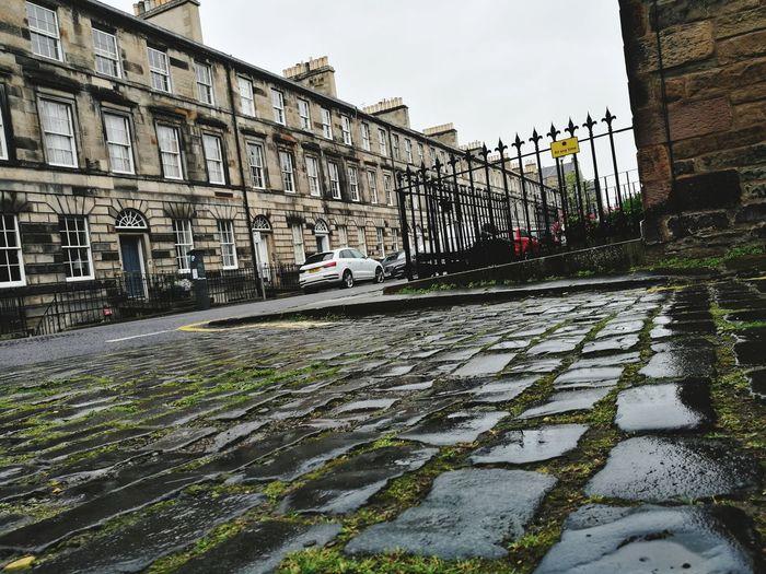 Edinburgh, Scotland Edinburgh Rain Buildings City Sky Outdoors Cityscape Architecture No People Built Structure Day