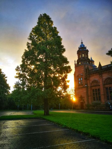 Architecture Travel Destinations Tree No People Kelvingrove Park EyeEm Gallery WeekOnEyeEm Sunrise
