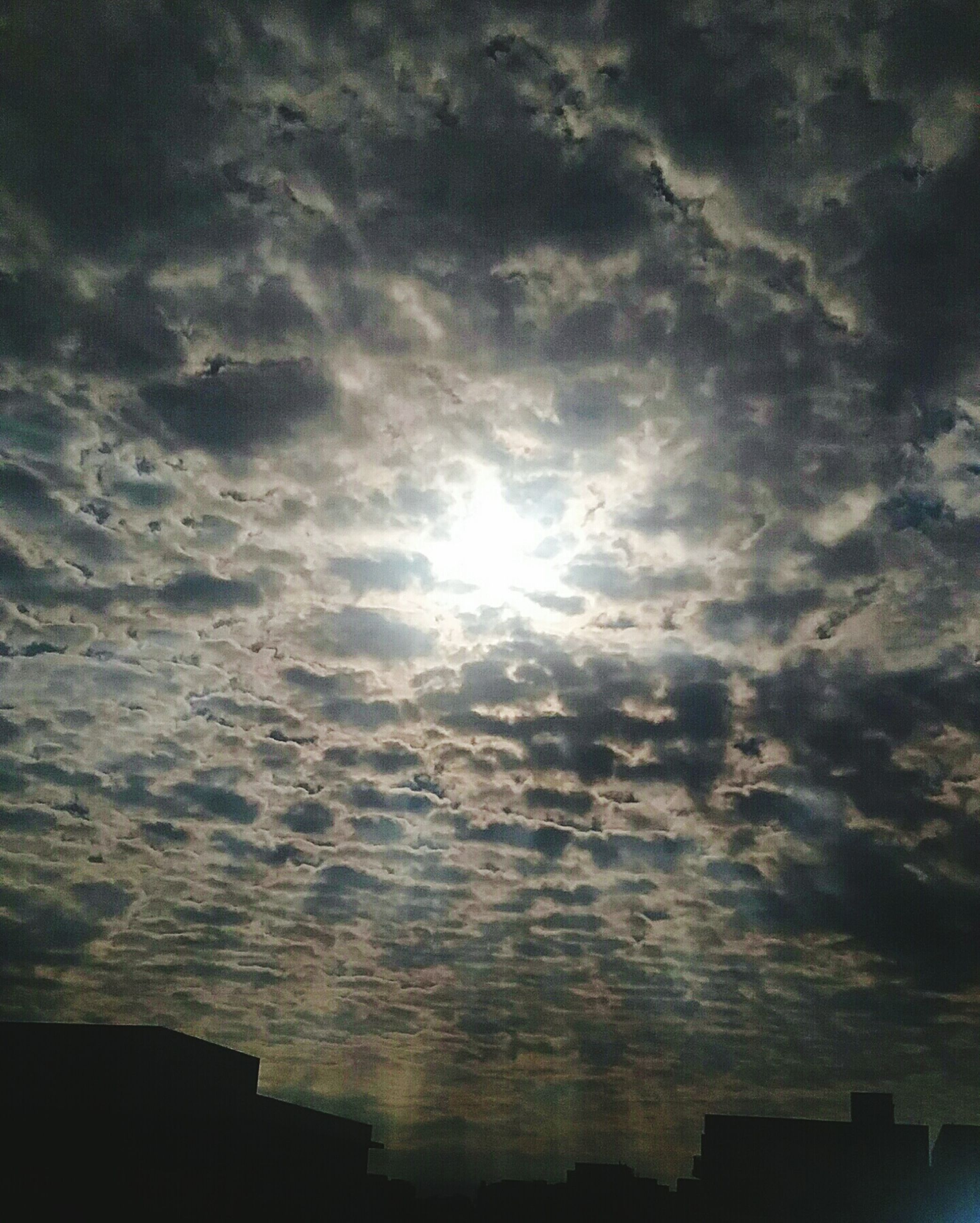 sun, sunlight, sunbeam, sky, nature, cloud - sky, low angle view, no people, sunset, tranquility, beauty in nature, scenics, outdoors, day