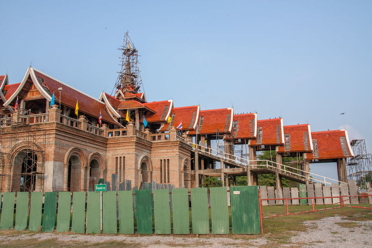 ASIA Architechture Construction Thai Thai Art Construction Thailand Built Structure Construction Work Religion Thai Art;