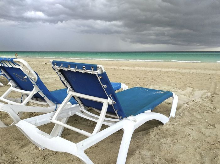 Varadero Varadero, Cuba Varadero Beach - Cuba Varaderobeach Cuba Cuba. Varadero Cuban Beach Beach Life Beach Day Relaxing Moments Relaxing Time Sandy Beach Sand & Sea Blue Water Hollidays Sitting On A Bench Summertime Summer Views Paradise Beach Idilic Beach Water Sea Beach Sand Summer Backgrounds Chair Sky Horizon Over Water Cloud - Sky Calm