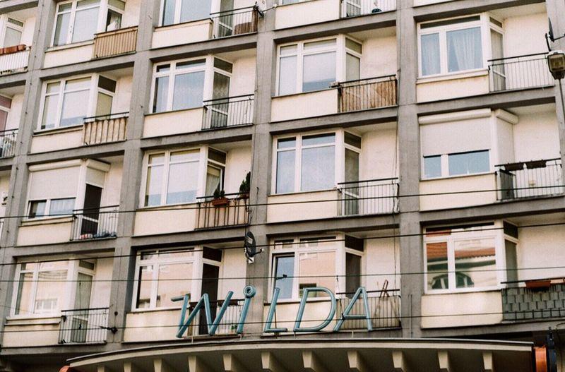 Poznań Poland Wilda Street