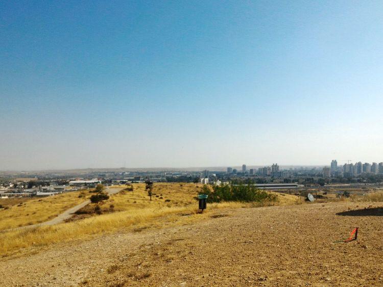 Be'er Sheva South Israel Desert View Cityscapes
