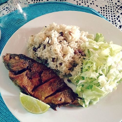 A Bird's Eye View Local Food All Natural Dominican Republic Livingthegoodlife Well Hello There Fisharefriendsnotfood Making Me Hungry Moreplease Missing This Place