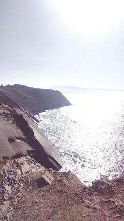 Beach Coast Sea And Sky Seaside Seaandsun Pays Basque Corniche Euskalherria Iparralde First Eyeem Photo