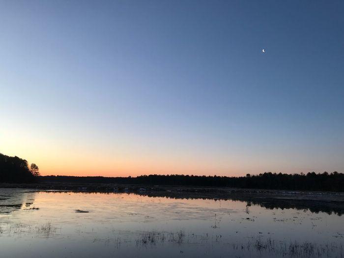 Sunrise Sunrise Reflection Water Lake Beauty In Nature Nature Tranquil Scene
