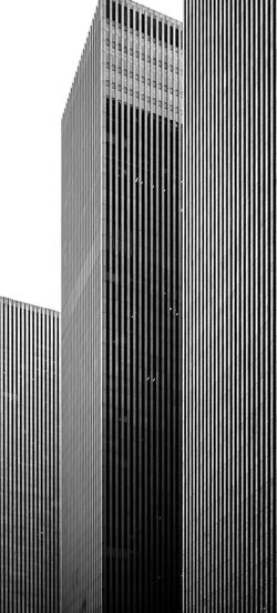 Architecture_collection Minimalist Architecture Architecture Bnw_captures Bnw_collection Bnwphotography Building Building Exterior Built Structure City Light And Shadow Low Angle View Metal Minimalism Minimalist Photography  Modern Pattern Photography Sky Skyscraper Tall - High Vertical Lines Window