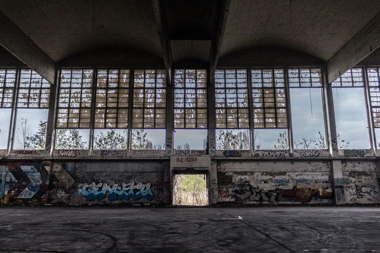 Abandoned Architecture Damaged Day Indoors  No People Window