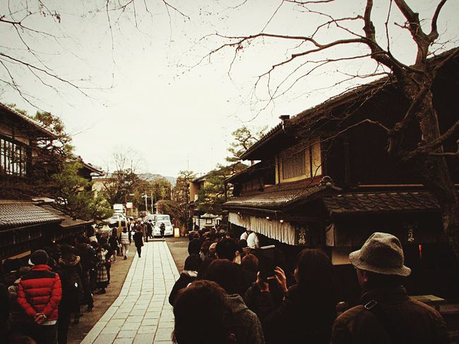 あぶり餅 今宮神社 Architecture Large Group Of People Building Exterior Built Structure Real People Men Women