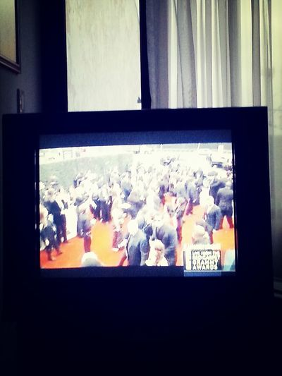 Watching Grammys Celebrities Red Carpet Fancy Time