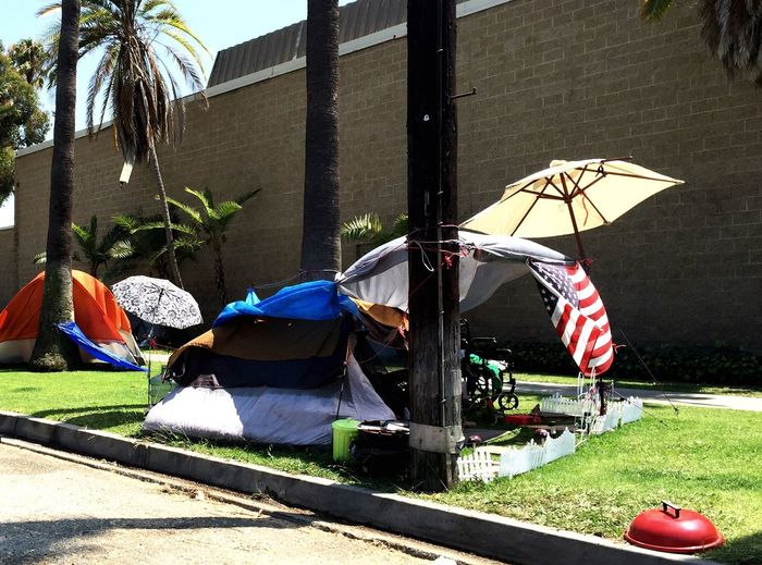 Home is where the heart is Home Sweet Home Picket Fence White Picket Fence Patriotic Patriotic House Tents Venice California Sidewalk Photograhy Green Grass 🌱 What I Saw On My Walk Today Front Yard Human Condition Umbrellas Umbrellastreet Home Is Where The Art Is August 2016 Homeless People