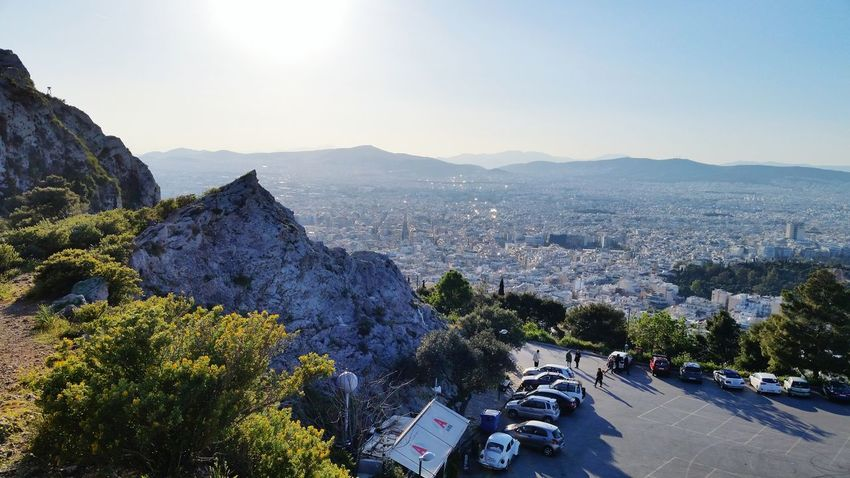 Greece Athens Lycabettus Great Views High Travel Urbanphotography
