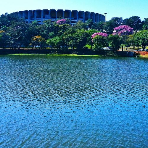 Lagoadapampulha Pampulha Lagoon Mineirinho Belo Horizonte Belohorizontecity Belo Horizonte, Brasil Ipês Architecture Water Photolovers Smartphonephotography Mobilephotography Phone Photography Photography Fotografia Eyeemphotography No People Minas Gerais-Brazil