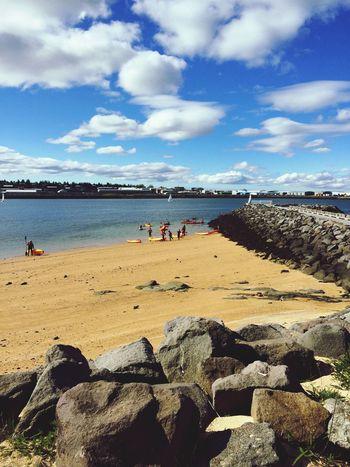 Summer Time  EyeEm best shots Beautiful Nature Beach Sand Iceland Reykjavik🌸🌸🌸
