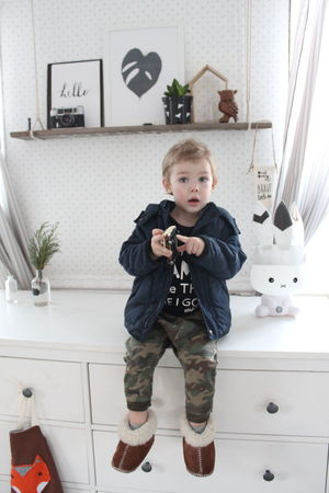 Little Boy Son Boy Mylove Home Scandinavian Design One Person Child Children Only Blond Hair Childhood Indoors  Males  One Boy Only Full Length People Holding Front View Living Room Christmas Decoration Day