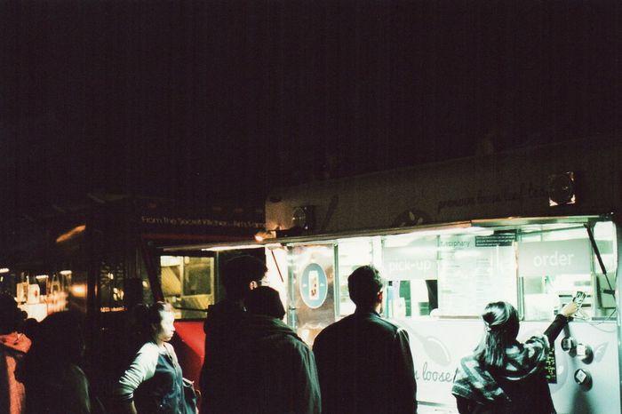 Off the Grid @ Fort Mason San Francisco Urban Lifestyle March 2015 (Fujifilm Superia 400)