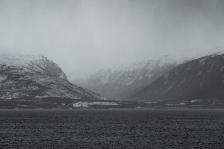 Dark Landscapes of Norway Dark Hurtigruten Norway Perspectives On Nature Winter Boat Cruise Darklands Fjords Landscape