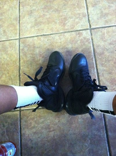 Wat My Shoe And Sock Was Lookin Like 4 Today's Game