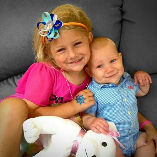 My Baby Cousins . The Loves Of My Life Adorable Adorable Kids Sister And Brother Blondies Blue Eyes Love Family