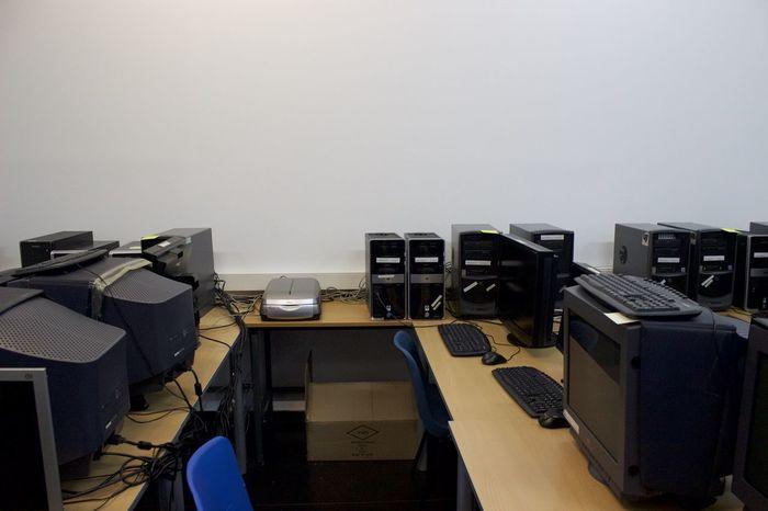 Clasroom Computers Informatics No People Old Computers School School Life  Shooldays