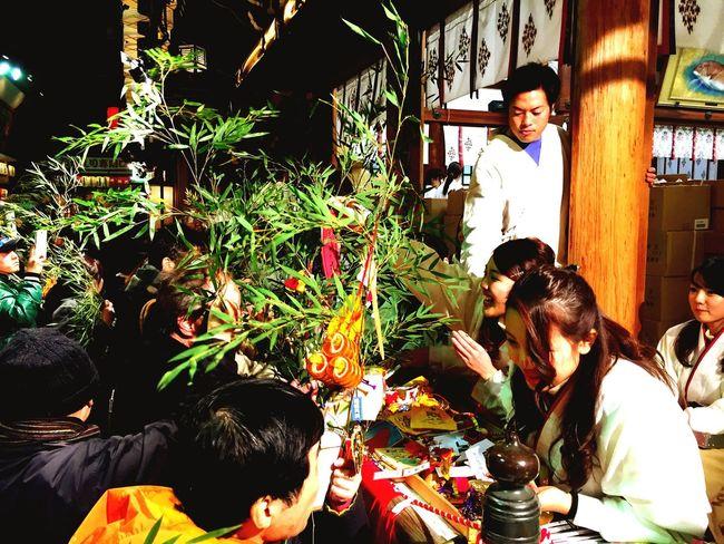 Traditional NewYear Shrine