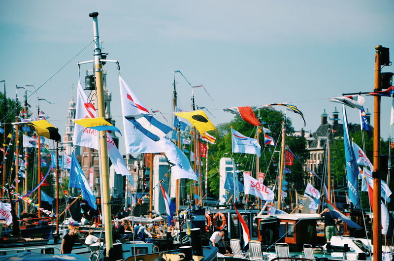 Amsterdam City Colourful Europe Festival Flags Outdoors VSCO Vscocam