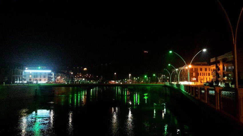 Amasya City Light And Shadow Lights In The Dark Benimkadrajim Greenriver Yeşilırmak View Amasya/Turkey Night Reflection Water Arts Culture And Entertainment Nightlife City