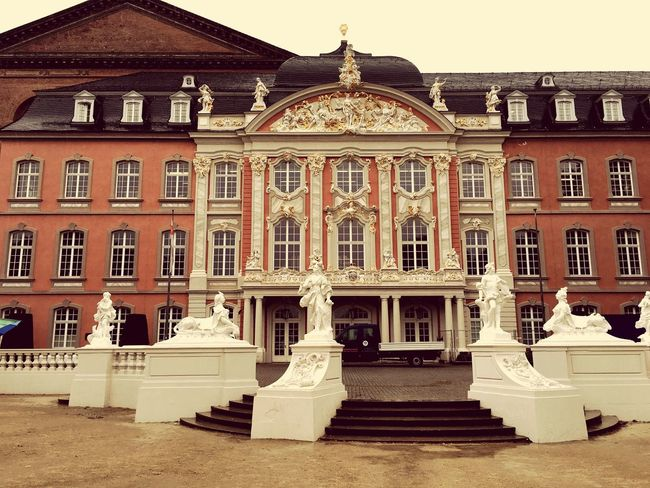 Architecture Building Exterior Built Structure Travel Destinations City No People History Outdoors Sculpture Statue Day Eyemphotography Germany Deutschland Trier Church EyeEm Gallery Vintage Old Buildings Old Old House