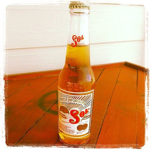 My first Sol CervezaImportada Beer Tastesgood