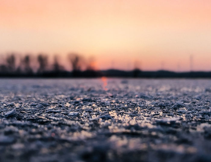 Frozen Lake Ice Winter Beauty In Nature Close-up Cold Temperature Day Evening Glow Frozen Nature Frozen Water Nature No People Outdoors Scenics Selective Focus Sky Sunset Sunset #sun #clouds #skylovers #sky #nature #beautifulinnature #naturalbeauty #photography #landscape Surface Level Tranquil Scene Tranquility Water Winter Wonderland
