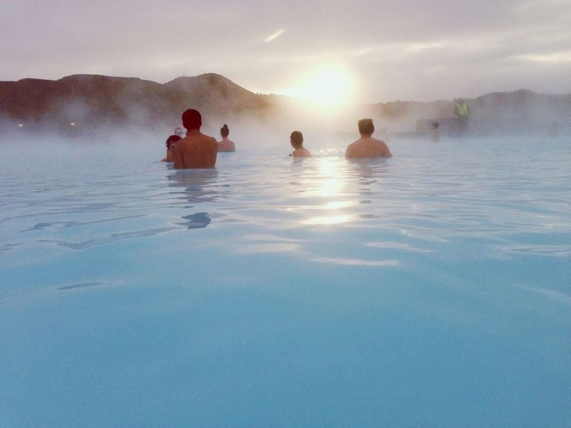 Trip Blue Iceland Bluelagoon Sunset My Winter Favorites Relaxing EyeEm Best Shots Happy It's A Small World Peasefull North Europe Showcase: November My Favorite Photo アイスランド 温泉 Hot Spring IPhoneography Blue Lagoon Iceland_collection Iceland Memories Iceland Trip Enjoying Life Lagoon ブルーラグーン
