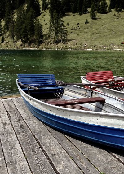 colorful boats at lake in the alps, vilsalpsee, tirol Beauty In Nature Boat Colors Enjoying Life Gondola - Traditional Boat Greenery Holiday Jetty Lake Light Mode Of Transport Moored Nature Nautical Vessel Outdoors Scenics Spring Take Your Place Tannheimer Tal Tirol  Travel Tree Vilsalpsee Water Wood - Material Second Acts Modern Hospitality The Great Outdoors - 2018 EyeEm Awards
