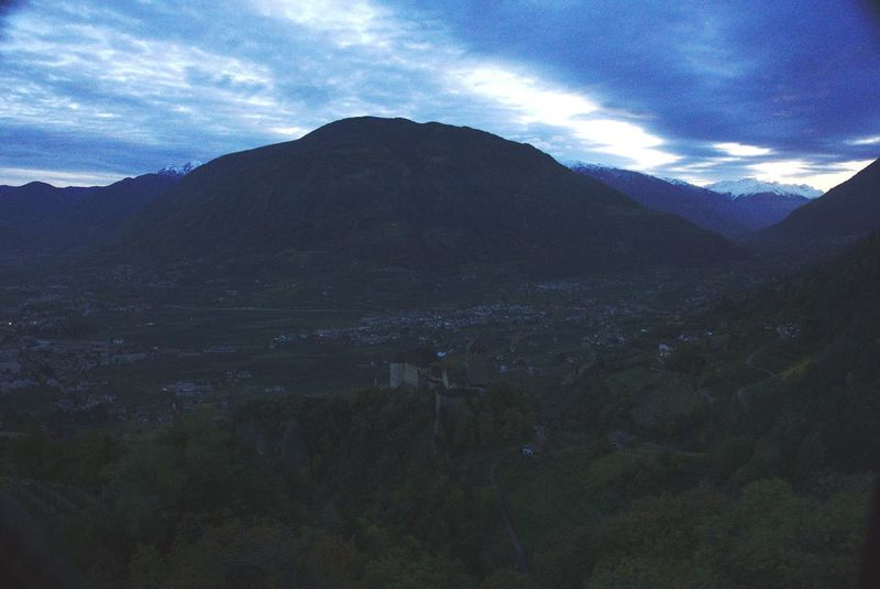 hiking Merano Meran Italy Backgrounds Snowcapped Weather Snow Foggy Cold Temperature Weather Condition