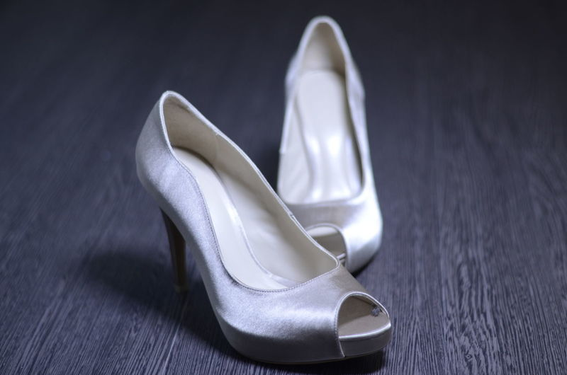 Bride shoe Getty Images Light Lighting Equipment Lights Love Low Angle View Wedding Photography Bride Getting Inspired Light And Shadow Lightning Love ♥ Lovely Marriage  Shoes White Women