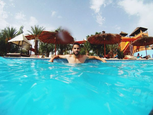 Hello World Enjoying Life Enjoying The Sun Aqua Park Marrakech
