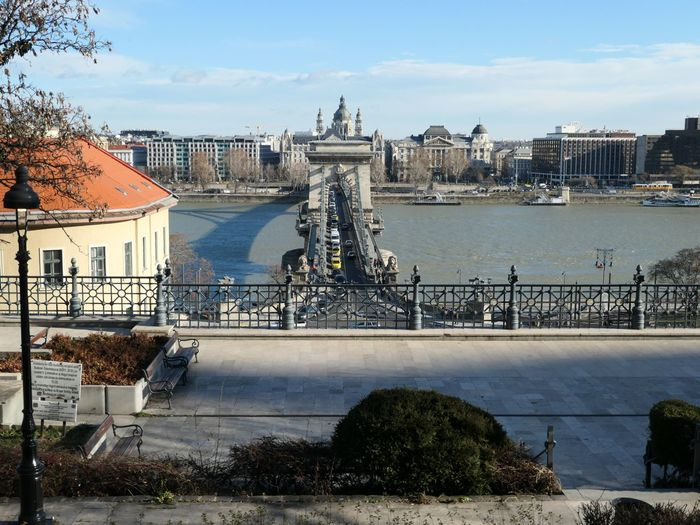 View of Pest from Buda EyeEm Selects Danube Budapest Architecture Built Structure Building Exterior Sky City Water Nature Travel Destinations Travel Sculpture Tourism Day Chain Bridge Building Art And Craft Cloud - Sky No People Representation Outdoors Cityscape