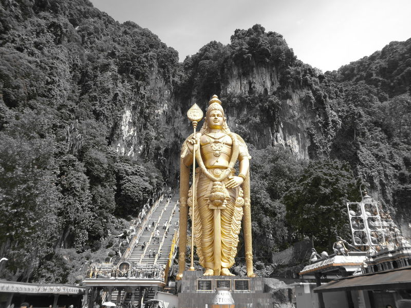 Day Gold Colored Kuala Lumpur Malaysia  Outdoors Religion Spirituality Statue Travel Destinations
