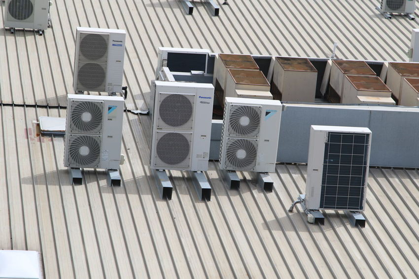 Air Condition Cooling System Day Electronics Industry House Roof No People Outdoors Technology