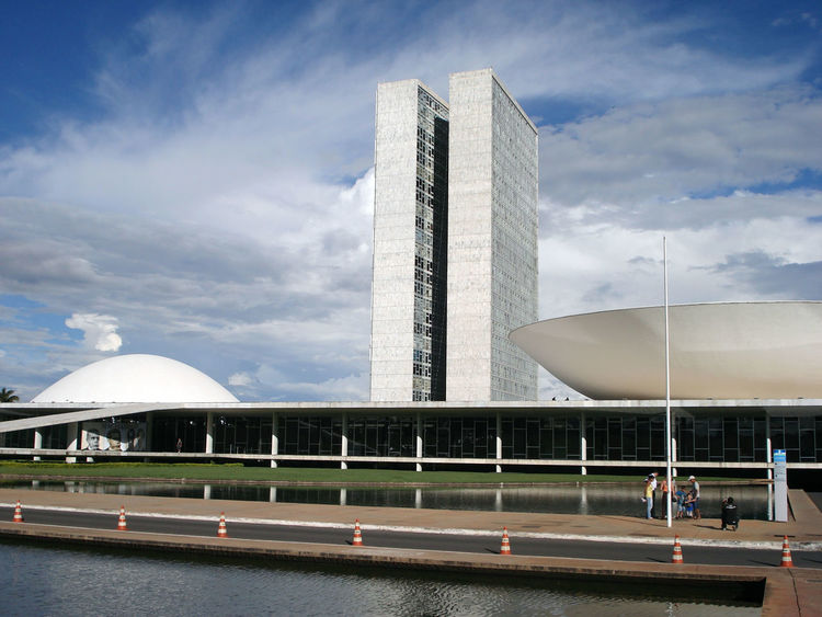 Architecture Brasil Brasília Brazil Building Exterior Built Structure Cloud - Sky Day Dilma Roussef Impeachment Michel Temer Outdoors Sky